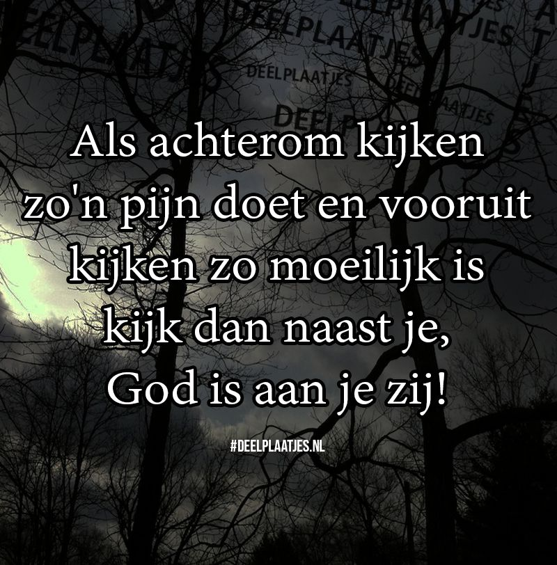 god is aan je zij