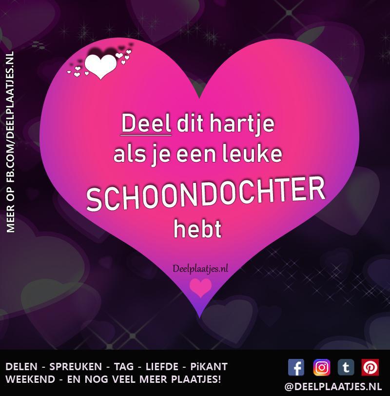 Tag Tekst Liefste Schoondochter