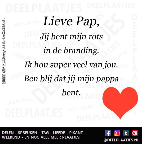 Goede Lieve pap - Tag HL-04