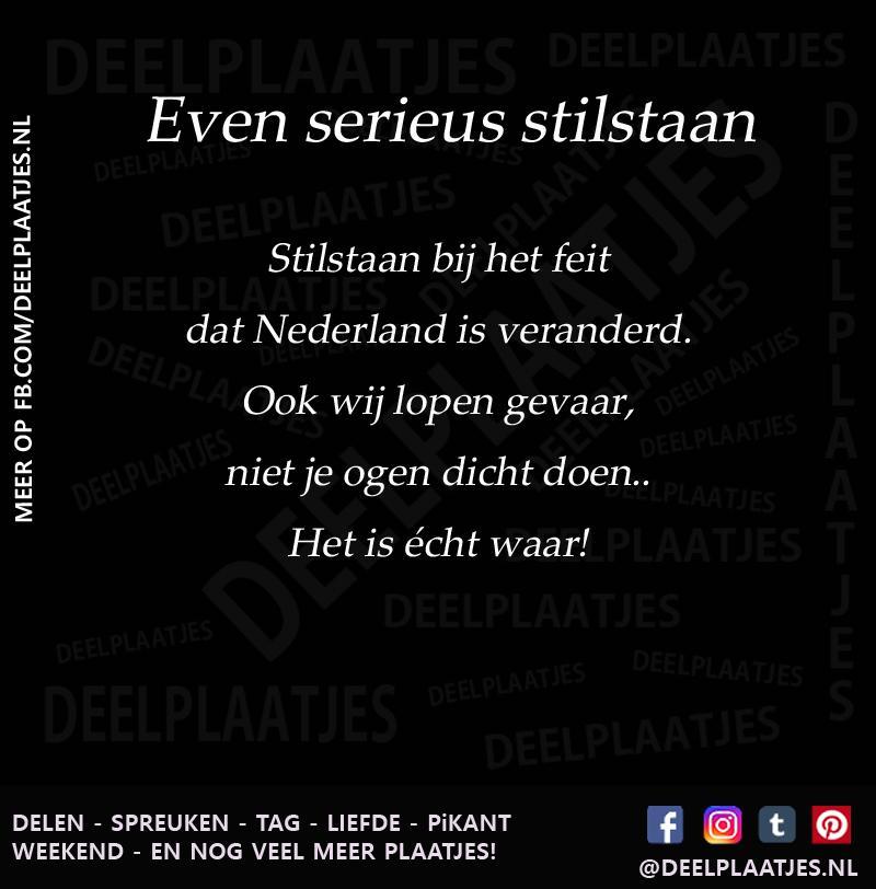 Favoriete Nederland is veranderd - Spreuken &EE72