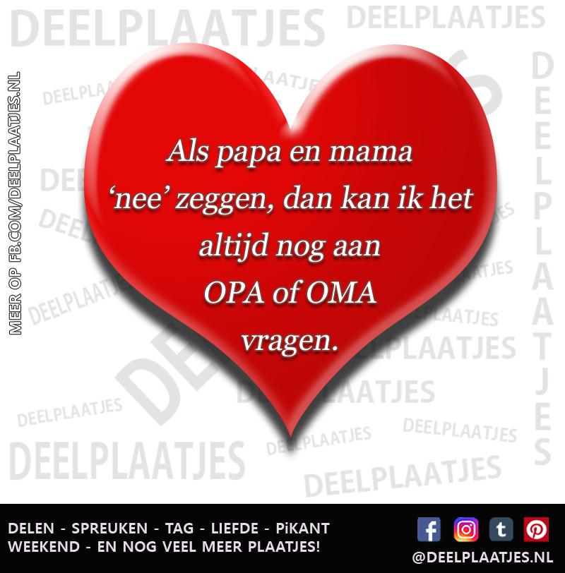 Iets Nieuws Opa en oma vragen - Opa oma &JA48