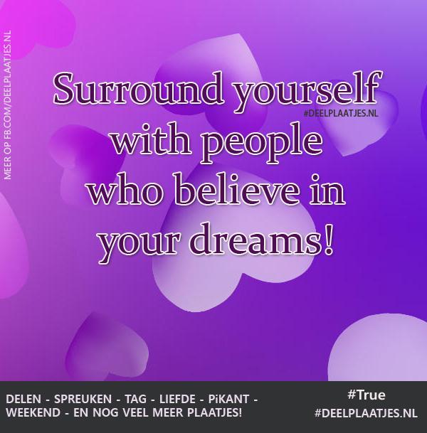 fb spreuken Surround yourself   Spreuken fb spreuken