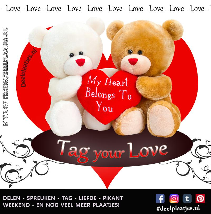 Tag your love