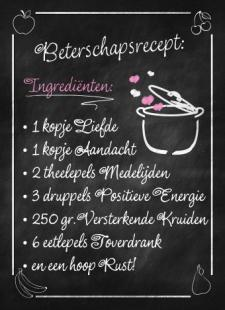 beterschaps recept