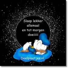 Lieverd gedicht lekker slaap GRATIS! slaap