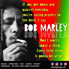 bob marley sings it