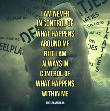 control of what happens