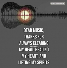 dear music thank you