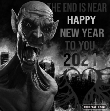 happy new year the end is near