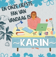 karin is de liefste fan