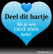 lieve zoon