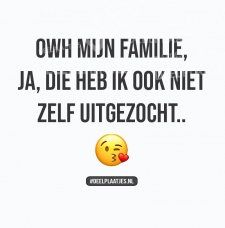 owh mijn familie