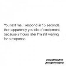 you text me