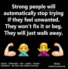 strong people will stop