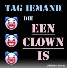 tag die clown