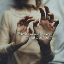 to heal a wound