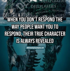 true character is always revealed