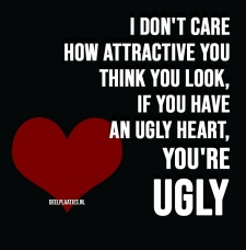 ugly heart you are ugly