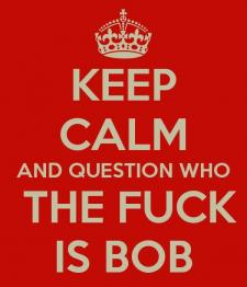 who the fuck is bob