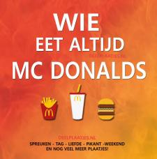 wie altijd mc donalds