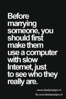 before marrying someone