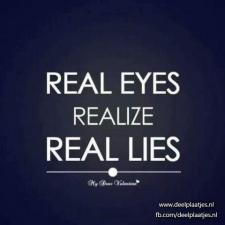 real eyes real lies