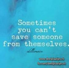 sometimes you cant