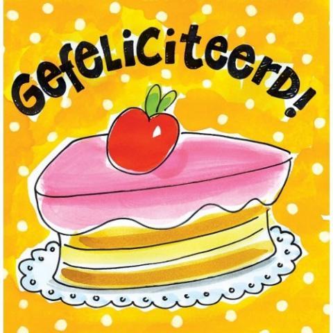 gefeliciteerd taart - gefeliciteerd