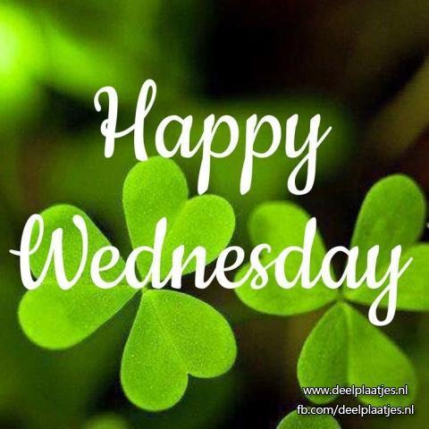 Happy wednesday - Dagen vd week