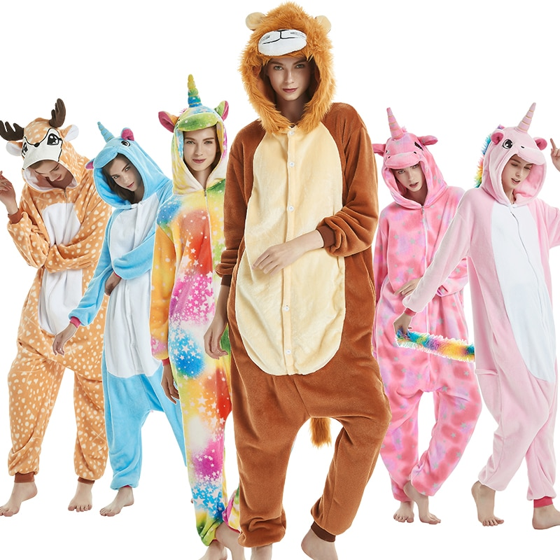 Onesie pyjama animal cosplay unisex